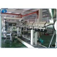Buy cheap PC / PP / PE Plastic Sheet Making Machine , Twin Screw Plastic Extrusion Machine from wholesalers