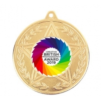 Quality 60*3mm Sports Award 3D Engraved Zinc Alloy Custom Medals wholesale