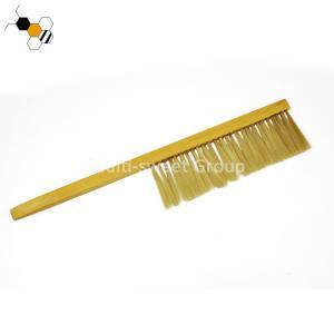 Quality 41*8cm 65g Wood Handle Double Artificial Fiber Bee Brush wholesale