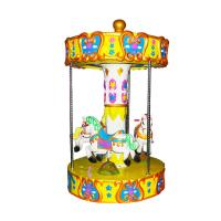 Quality Kids Amusement Coin Operated Carousel Kiddie Ride Merry Go Round wholesale