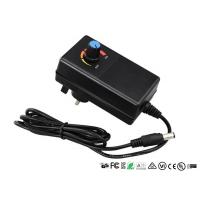 Quality CE UL Adjustable Output Voltage Wall Adapter Power Supply With Adjustable Switch wholesale