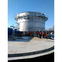 Quality Food Industry Waste Bolted Steel Tanks , Stainless Steel Storage Tanks wholesale
