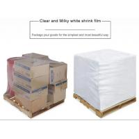 Quality PE Heat Shrink Plastic Film Rolls For Packaging With Customized Size And Colours wholesale