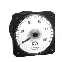 Quality Moving Coil Analog Electric Meter , 110*110mm Analogue Panel Ammeter Three Phase wholesale