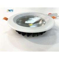Quality 20W 30W SMD 5730 LED Round Ceiling Recessed Downlight wholesale