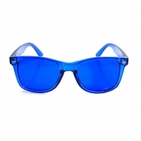 Buy cheap 1.7mm Thick Colour Therapy Sunglasses UV400 Ultraviolet Radiation from wholesalers