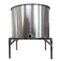 Quality Seamless Electric 48 Frame Dadant Honey Extractor With 45cm Inner Basket Height wholesale