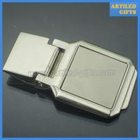 Quality High quality blank silver money clip as business promotion gifts wholesale