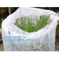 Quality Non-Woven Vegetation Antifreeze Plant Drawstring Shrub Cold Jacket Garden Protection Bag Winter Tree Protective Cover wholesale