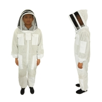 Quality Cotton Beekeeping Protective Clothing Ventilated Bee Suit With Hood wholesale
