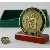 Quality Die Casting Sports Award Antique 3D Engraved Brass Medals wholesale