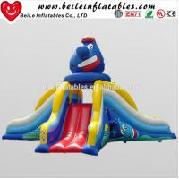Quality Funny clown big inflatable water slide and used inflatable water slide for sale wholesale