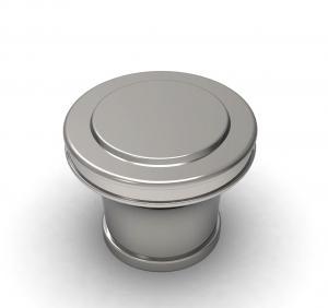 Quality Shape Customized 15mm Bottle Neck Electroplate Zamac Perfume Cap wholesale