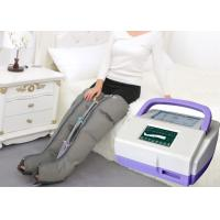 Quality Sequential Inflatable Leg Massager , Blood Circulation Long Boot Air Massager wholesale