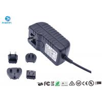 Quality 12V 2A Multi Plug Interchangeable Plug Power Adapter For CCTV Camera Monitor wholesale