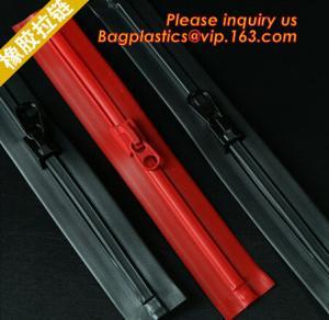 Quality concavo convex zipper, plastic flange zipper, bone zipper, waterproof airtight zipper wholesale