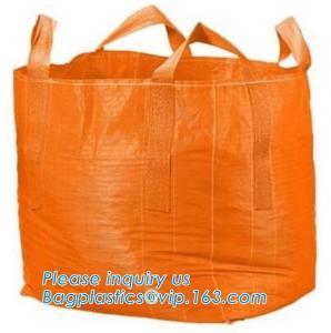 Quality Mesh Breathable Firewood U Type Fibc Bulk Bags Bulk Big Woven Fibc Bags Mesh Jumbo Bag For Firewood Potato wholesale