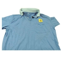 Quality Free Sample offer Antistatic Jacket ESD polo T shirts wholesale