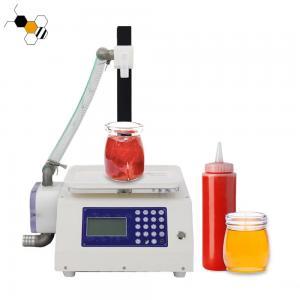 Quality Weighing 360Bottles/H Honey Bottle Filling Machine 220V wholesale