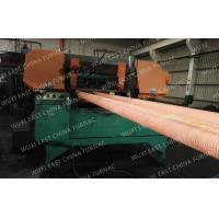 Quality 100mm Red Copper Pipes Continuous Casting Plant , Horizontal Casting Machine wholesale