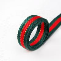 Quality High Strength Woven Custom Jacquard Ribbon For Bag / Garments Or Shoes wholesale