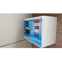 Quality Wall Mounted Token Dispenser Machine Safe Mini Coin Changer 80W wholesale
