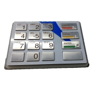 Quality 49-216686-000B Pinpad EPP5(BSC), LGE, ST STL, ENG, Q21 Diebold Keyboard ATM Parts wholesale