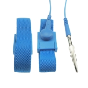 Quality PA6 Plastic Buckle 4MM Snap Conductive Fiber ESD Wrist Strap wholesale