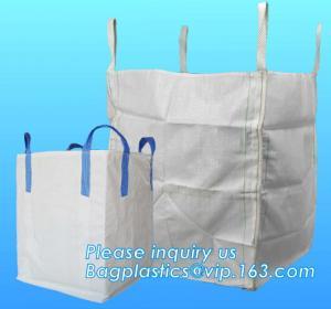 Quality U-type competitive price 100% PP breathable bulk big woven fibc bags mesh jumbo bag for firewood potato, BAGPLASTICS, wholesale