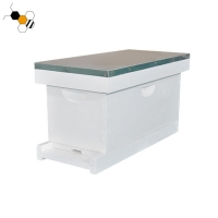 Quality Painted White Langstroth Nuc Box Bee Hive Equipment Wooden Bee Hive wholesale