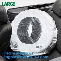 Quality Tire Storage Bags Car Plastic Tire Bags For Automotive Interior Protection, Auto Repair Shops Tire Covers For Wheel wholesale