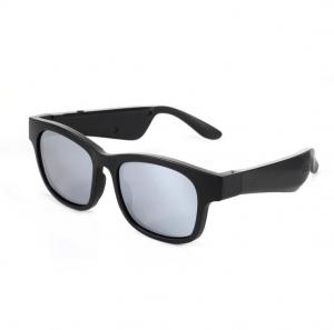 Quality Smart Audio Sunglasses Speaker Bluetooth Eyewear Silver Mirror Lens wholesale