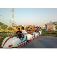 Quality Space Train Design Kiddie Roller Coaster Customized Capacity For Children / Adults wholesale