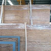 Quality French River Golden Marble Stone Slab / Natural Stone Marble Eco - Friendly wholesale