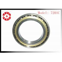 Quality NSK Ball Bearings Chrome Steel Smooth Rolling High Precision 7201C wholesale