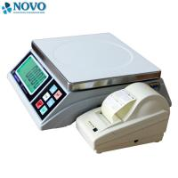 Quality label printing igital Weighing Scale 15kg 30kg for fruits in Supermarket wholesale