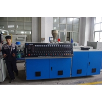 Quality ISO9001 220rpm Granules HDPE Pipe Extrusion Line With Touch Screen wholesale