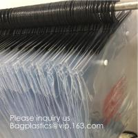 Quality Poly Clear Plastic Hanger Covers Dry Cleaning Bags On Roll For Shirt,Hanger hook plastic bags zipper bag manufacturers wholesale