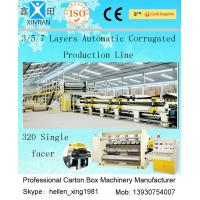 Quality Computerized 3 / 5 / 7 Ply High Speed Corrugated Carton Making Machine ISO9001 wholesale