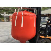 Quality 1 Ton - 2.5 Ton PVC Recycled Big Bag Cone Bottom / Flat Bottom With Spout wholesale