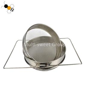 Quality 304SS Double Filters 16 Mesh 30 Mesh Honey Strainer wholesale