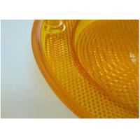 Quality Yellow Car Plastic Molding Lamp Lens Cases , Hot Runner Injection Auto Parts wholesale
