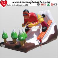 Quality Hot Sell Cool Sell Design Advertising Giant Inflatable Water Slide And Inflatable Slide For Adult For Sale wholesale