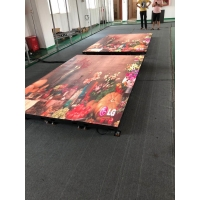 Quality LED dance floor screen of interactive radar system p3.91 500*1000mm aluminum cabinet wholesale