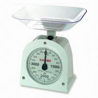 Quality Dial Spring Scale with 1 to 5kg Capacity and 5 to 25g Graduation wholesale