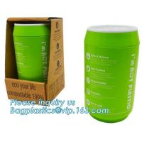 Quality Coffee cup, PLA compostable cups, water cup, compostable cupcake coffee, disposable coffee cup wholesale