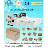 Quality 3KW 2200mm Semi Automatic Machines Slotting Machinery with Chain Feeder wholesale