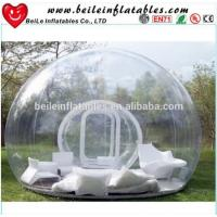 Quality Inflatable Transparent Tent and Clear Bubble Tent with sofa or pillow For Sale wholesale