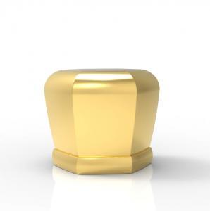 Quality ISO 9001 Hanging Plating Zinc Alloy Perfume Bottle Cap wholesale