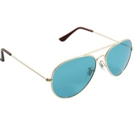 Quality ROHS Metal Frame Colour Therapy Sunglasses 100% UVB Protection wholesale
